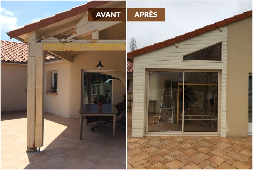 Extension & Rénovation avant / après