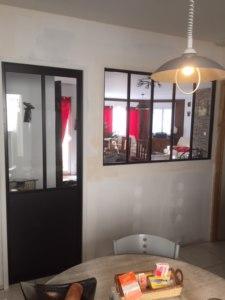 Pose Porte Style Atelier Et Verrière